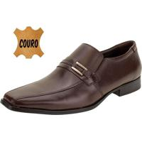 Sapato Masculino Social Democrata - 24410 Café 40