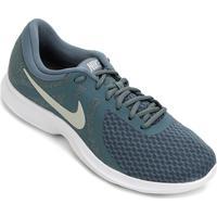 9abeb14ec46 ... Tênis Nike Wmns Revolution 4 Feminino - Feminino-Azul+Branco
