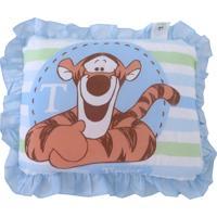 Travesseiro Minasrey Ursinho Pooh Azul