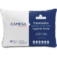 Travesseiro Micro Cotton Branco 50X70 Cm