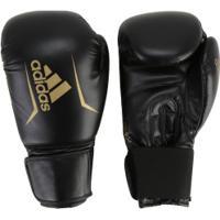 Luvas De Boxe Adidas Speed 50 Plus - 14 Oz - Adulto - Preto Ouro ce73b4803e50c