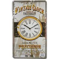 Relógio Kasa Ideia De Parede Clock De Metal