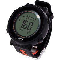 Monitor Cardíaco + Cinta Fortius Com Contador De Calorias Cronômetro Alarme Preto Atrio - Es049