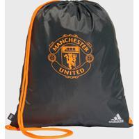 Bolsa Adidas Performance Gym Bag Manchester United Cinza - Cinza - Dafiti