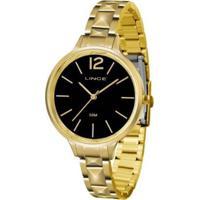 Relógio Feminino Lince Casual Lrgh066L P2Kx - Unissex-Dourado