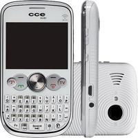 Celular Cce Mobi Qw30 Branco - Dual Chip - Tv Analógica - Mp3 Player - 1.3Mp - Rádio Fm