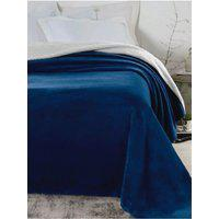 Cobertor Casal Corttex Áustria Azul Marinho