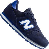 Tênis New Balance K373 Td - Infantil - Azul Escuro