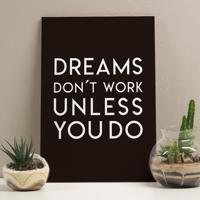 Placa Decorativa - Dreams