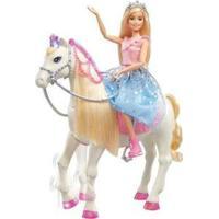 Boneca Barbie Com Cavalo Aventura Das Princesas Com Acessórios - Feminino-Colorido