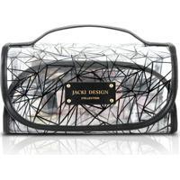 Necessaire Rocambole Jacki Design Pvc - Feminino-Preto