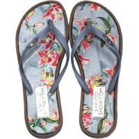 Chinelo Tecido Estampado Sapato Show 02811