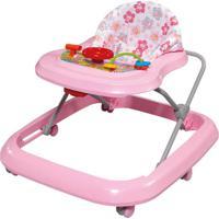 Andador Toy Rosa-Bebê Tutti Baby