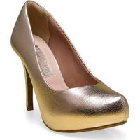 Sapato Fem Ramarim 16-40201 Champagne