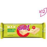Barra Proteica Uau! Protein Bar- Torta De Limão- 12 Probiotica