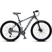 Bicicleta Colli Mtb Alumínio Kit Alívio Shimano A29 Freio A Disco 27M - Unissex