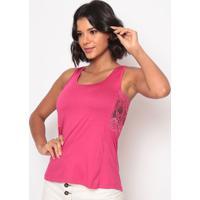Blusa Com Renda- Pink- Thiptonthipton