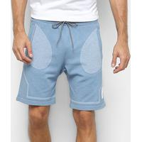 Short Asics Premium Knit Masculina - Masculino-Azul