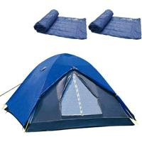 Barraca De Camping Iglu Fox Nautika + 2 Colchonetes Camp Mat - Unissex