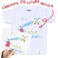 Camiseta Do Futuro Artista - Camiseta Clássica Infantil