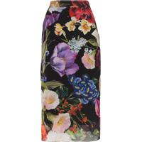 Dolce & Gabbana Saia Lápis Com Estampa Floral - Hnbb1 Multicoloured