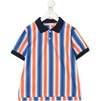 Marni Kids Camisa Polo De Algodão - Laranja