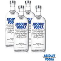 Vodka Absolut Original 1000Ml - 04 Unidades