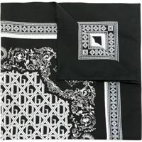 Dolce & Gabbana Lenço Estampado - Preto