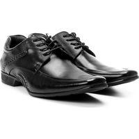 Sapato Conforto Couro Rafarillo New Vegas - Masculino-Preto