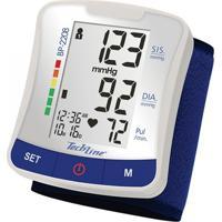 Aparelho De Pressão Sanny Esfigmomanômetro Digital De Pulso Tech Line (Cód.: Bp2208) Branco
