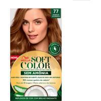 Tintura Soft Color Sem Amônia Marrom Dourado 77 Kit