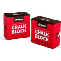 Magnésio Chalk Block Crossfit Escalada 56G 4Climb - Unissex