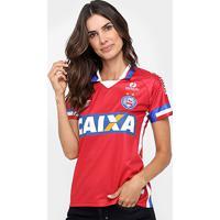 Camisa Bahia Iii 17/18 S/N° - Torcedor Umbro Feminina - Feminino