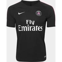 Camisa Paris Saint-German Treino 2018 Nike Masculina - Masculino