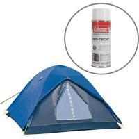Barraca De Camping Fox 3 Pessoas Nautika Com Impermeabilizante - Unissex