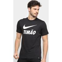 Camiseta Corinthians Nike Timão Ground Masculina - Masculino