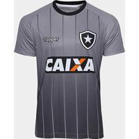 Netshoes  Camisa Botafogo Comissão Técnica Treino Topper Masculina -  Masculino 5e25aab6f7e21
