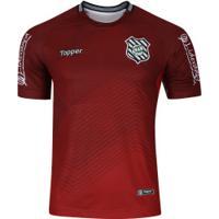 Camisa De Goleiro Do Figueirense I 2018 Topper - Masculina - Vermelho