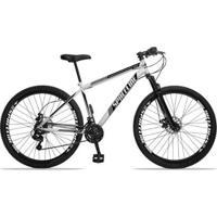 Bicicleta Spaceline Moon Aço Câmbio Shimano 21 Marchas Freio A Disco E Suspensão Aro 29 - Unissex