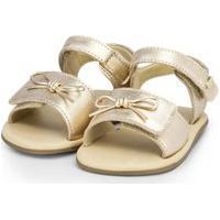 Sandália Infantil Bibi Afeto Dourada - 1084083