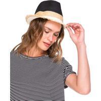 Chapéu Fedora De Palha
