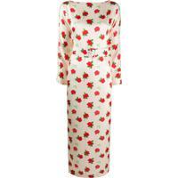 Bernadette Bernadette Rose Print Dress - Rosa