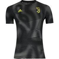 Camisa Pré-Jogo Juventus I 19/20 Adidas - Masculina - Preto/Branco