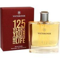 Victorinox 125 Years Your Companion For Life De Swiss Army Eau De Toilette Masculino 100 Ml