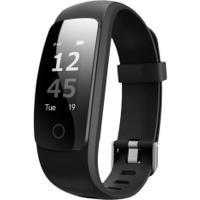Pulseira Inteligente Fitness Easy Mobile Ultra Fit Hr - Preto