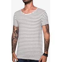 Camiseta Gola Canoa Listrada 103503