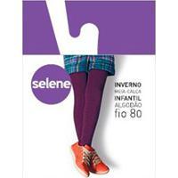 Meia-Calça Canelada Infantil Selene (9555-002) Fio 80