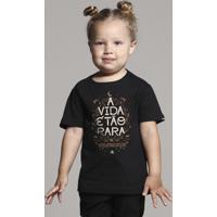 Camiseta Infantil Paciência