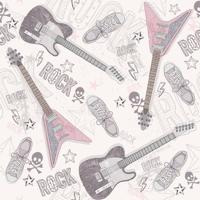 Papel De Parede Adesivo Rock Star