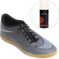 Kit Chuteira Nike Bravata 2 Ic Futsal + Limpa Tênis - Gonew - Masculino